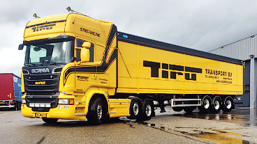 Tiru Transport B.V. vrachtwagen bulktransport